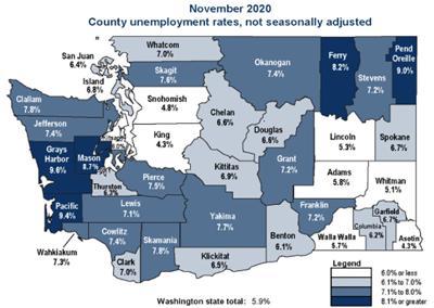 November jobs map