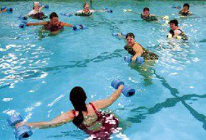 Women find fellowship, healing in Dunes pool