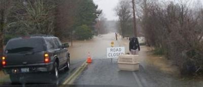 Naselle River Flooding