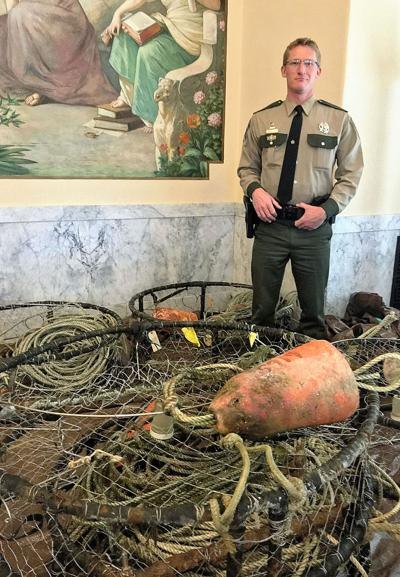 Westport crabber sentenced for stealing commercial pots