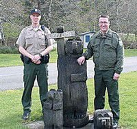Two new rangers start at Fort Canby