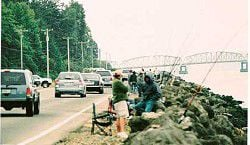 Accident heightens worries about bank fishing