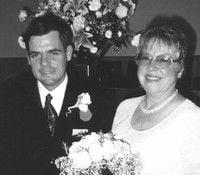 Just Married: Caroline Pointer and David Jones