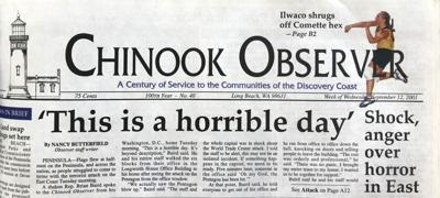 Chinook Observer 9/11 coverage