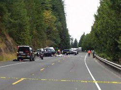 Four teenagers killed in accident on Highway 30; two other crash victims seriously hurt