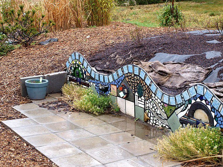 Surfside garden is deer resistant, artsy and functional