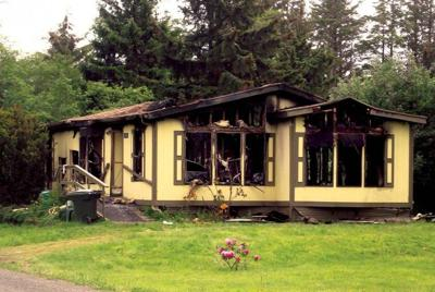 Chinook home destroyed by fire