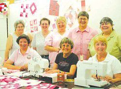 Anna Lena's joins Quilt Pink project to help fight breast cancer