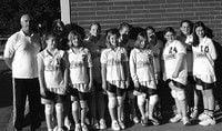 Seventh-graders hone skills at volleyball basics