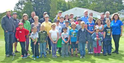 Kids try golfing, thanks to Elks