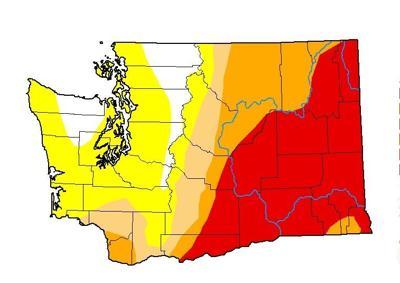 Washington drought 7/1/21