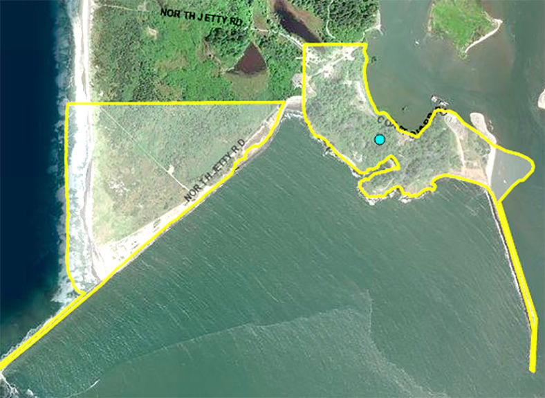 Federal property at Cape Disappointment