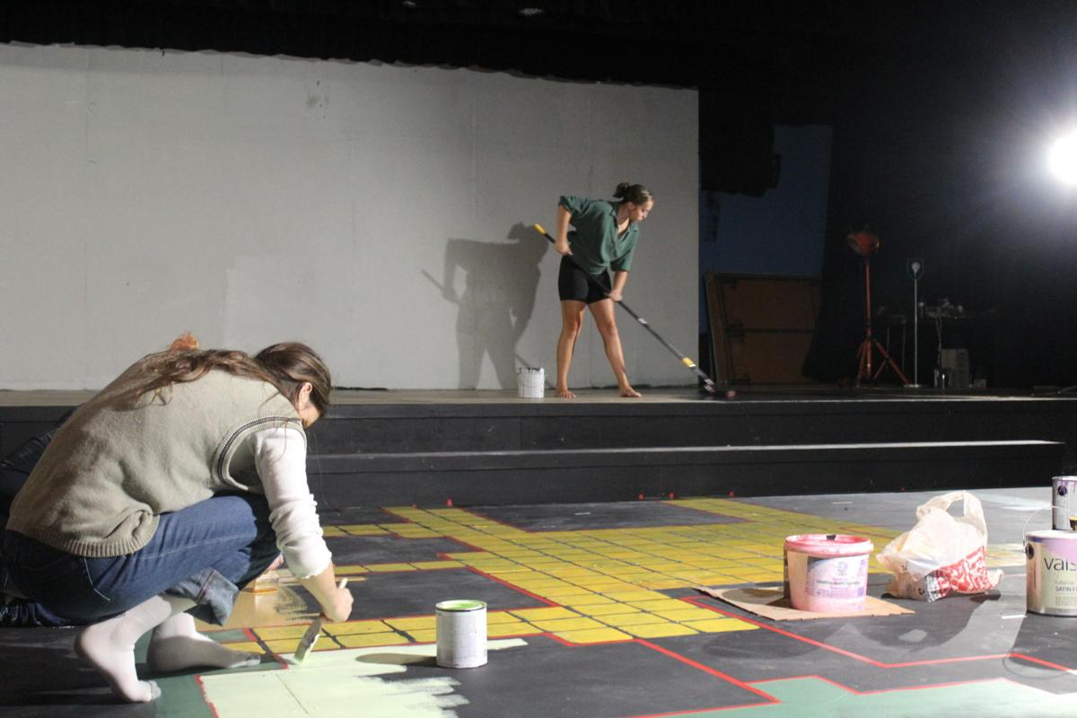 Stage painting
