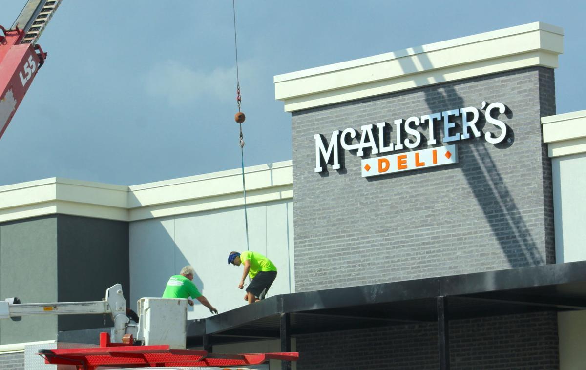 McAlister's Deli construction