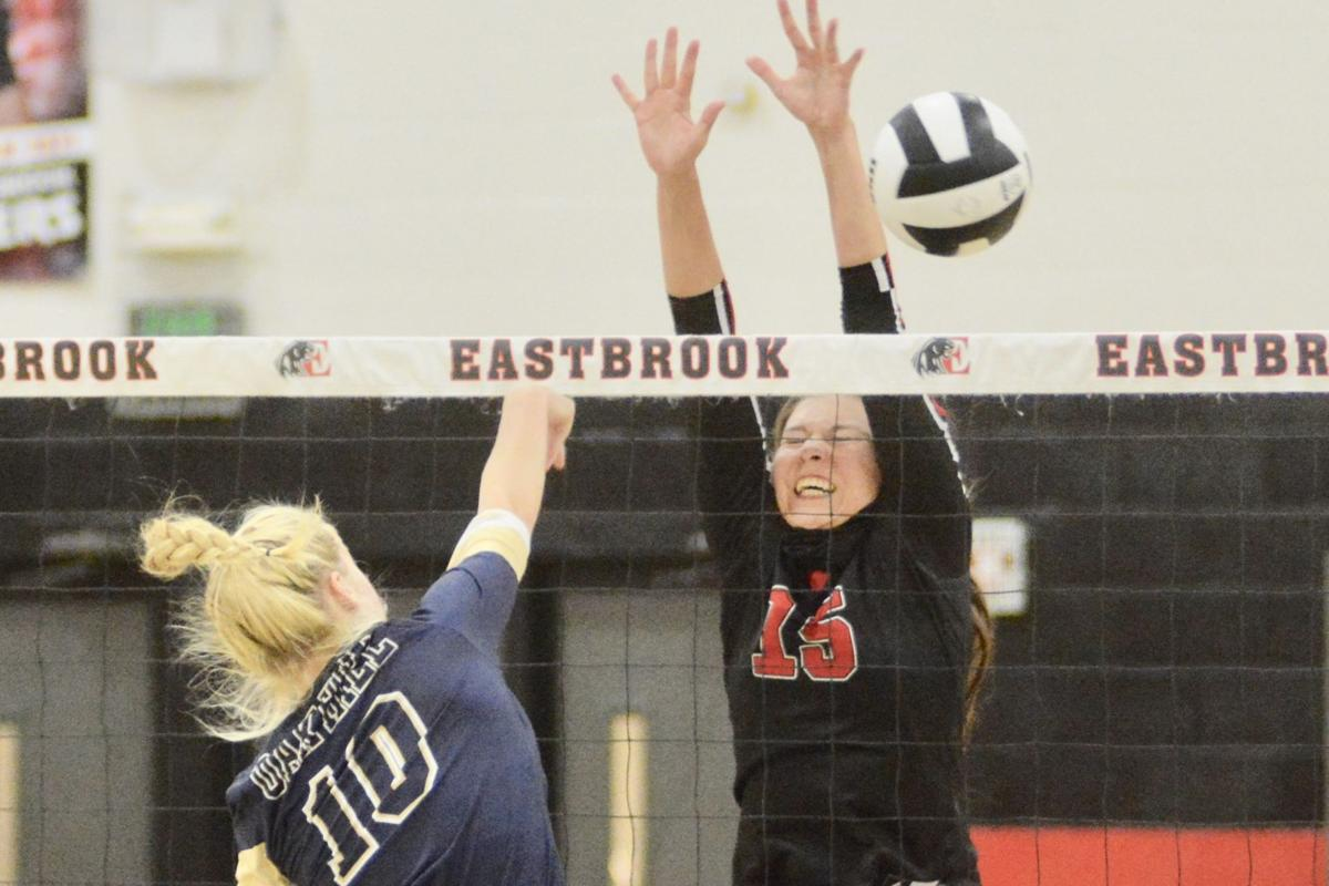 oh eastbrook volleyball (display)