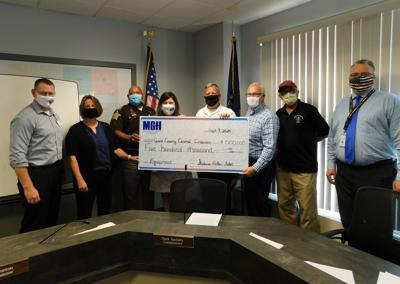 MGH donation to central dispatch