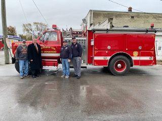 Swayzee Fire Truck