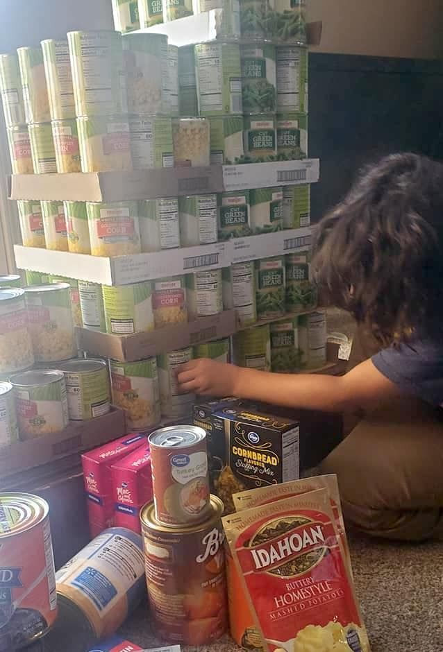 BLM Marion helps feed families in need