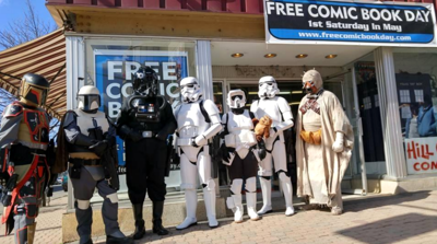 Free Comic Book Day runs from 9 am. to 5 p.m. at Hill City Comics