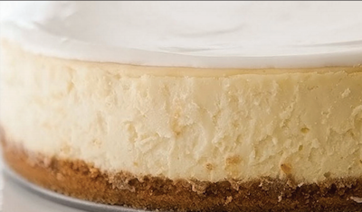Chef House holiday no bake eggnog cheesecake is sure to please those who savour fine holiday treats.