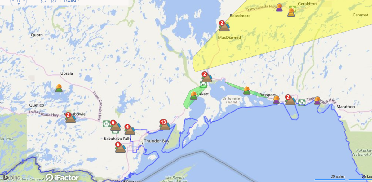 Ontario Hydro Power Outage Map.Hydro One Power Outage Map At 10 00 A M Chroniclejournal Com