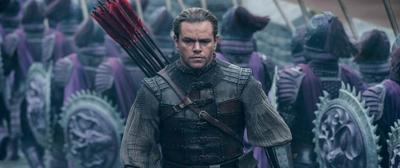 Matt Damon performs as William Garin in a scene from The Great Wall.