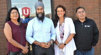 NDP team gets together