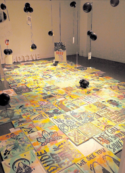 Innovative gallery fostering higher level of talent among region's artists