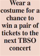 TBSO presents spooktactular show