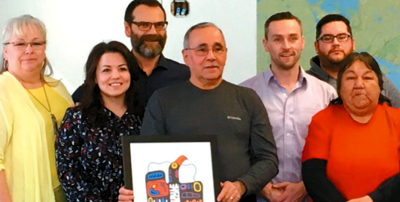Red Rock Indian Band and Resolute celebrate partnership