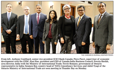 Business ties with India explored