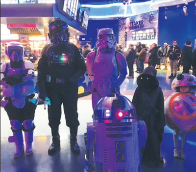 Fans out in full force for Star Wars spin-off