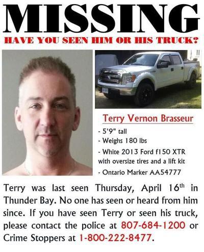 Terry Brasseur missing since April 16, 2015