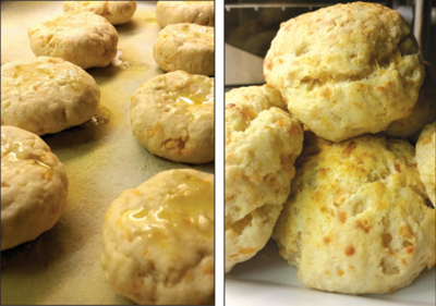 Chef House's Cheddar Blue Biscuits