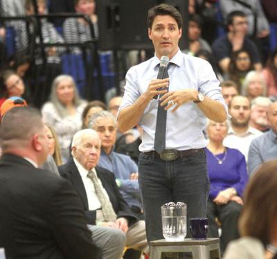 Trudeau takes questions at town hall