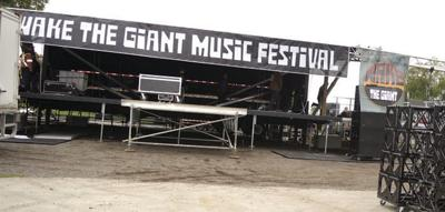 Music festival kicks off in the afternoon