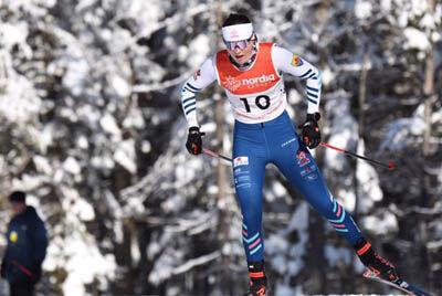 Overseas skier