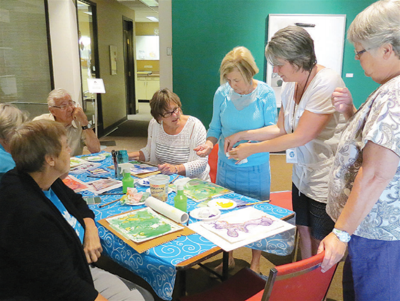 Seniors find arts EngAging