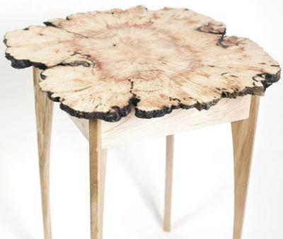 A Cory Bagdon creation made from a locally-sourced Manitoba Maple burl and spalted sugar maple.