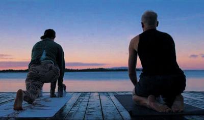 Dock yoga