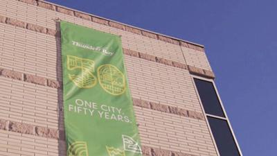 City celebrates milestone