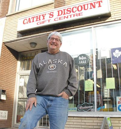 Landmark discount store up for sale