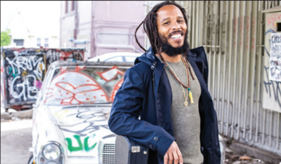 Reggae star Ziggy Marley will perform in Thunder Bay tonight.