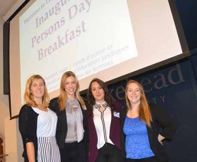 Persons Day breakfast