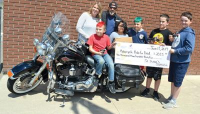 School comes through for Motorcycle Ride for Dad