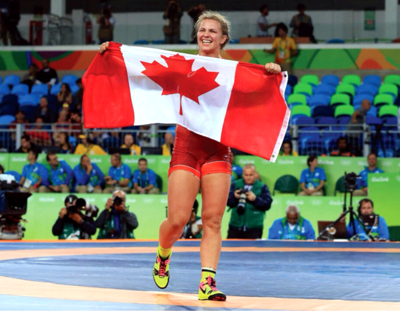 Wiebe in city for wrestling event