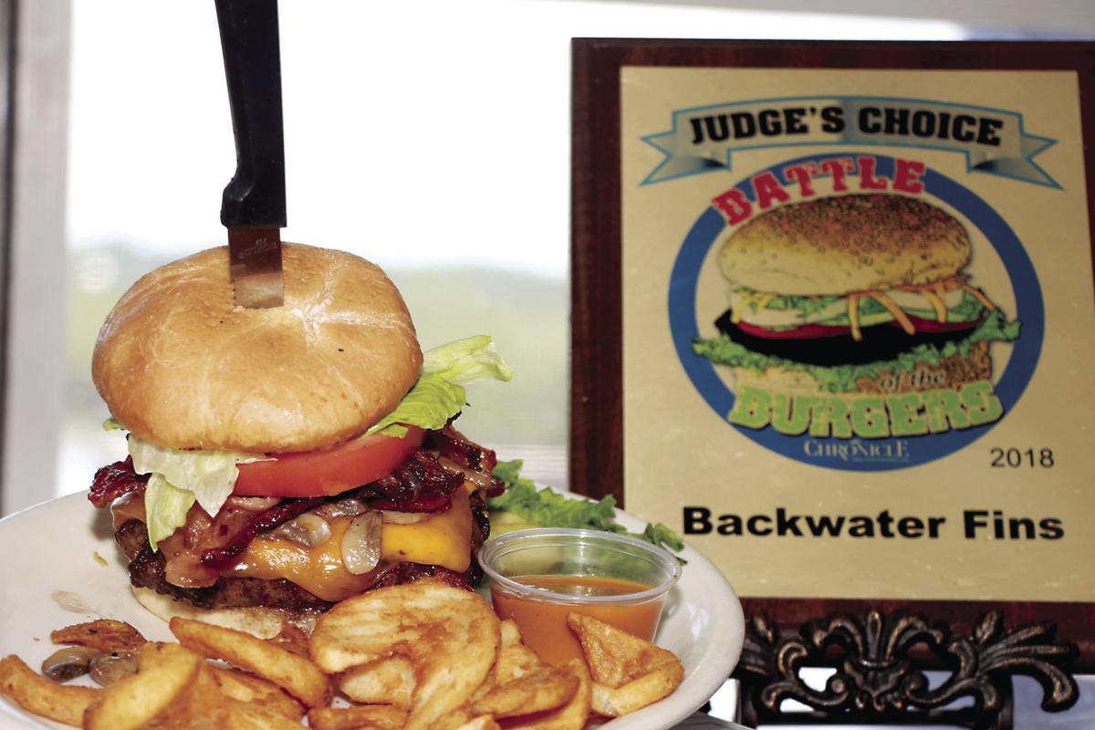 Backwater Fins Burger - Battle of the Burgers 2019