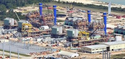 Duke gas plant April 2018