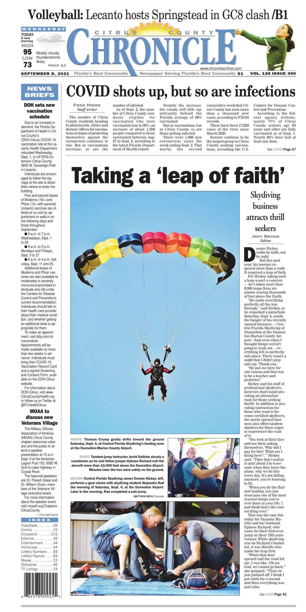 Citrus County Chronicle e-edition Sep 8, 2021