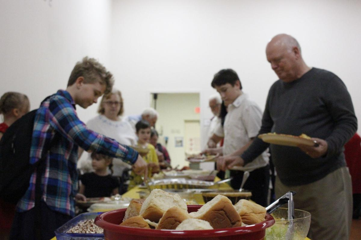 Cooking with faith -- friends feed the needy at Salvation Army | Local News  | chronicleonline.com